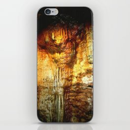 Reflections inside a Dolomite Cave iPhone Skin