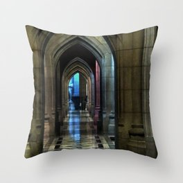 Washington National Cathedral, D.C. Throw Pillow