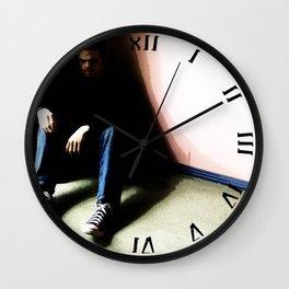 In the Corner #1 Wall Clock