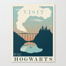 Visit Hogwarts Canvas Print