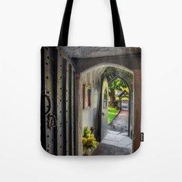 St Gwyddelan Church Tote Bag