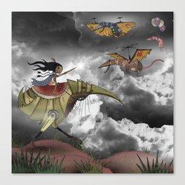 The Rat Wars Canvas Print