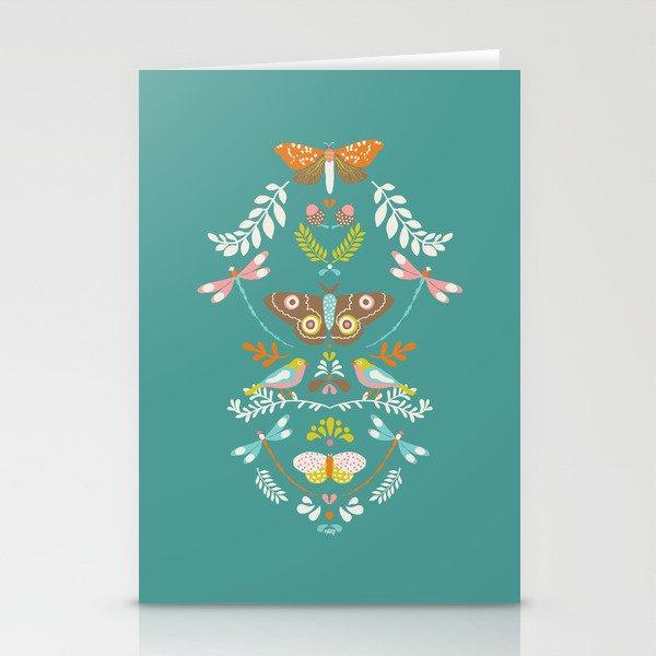 Flora- folklore Stationery Cards