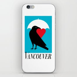 Vancouver's Canuck the Crow iPhone Skin