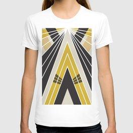 Art Deco Teepee T-shirt