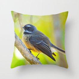 Fantail #7 Throw Pillow