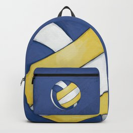 Volleyball Art Backpack