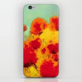 FLOWERS - Poppy time iPhone Skin