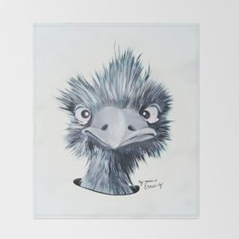 My name is EMU-ly Throw Blanket