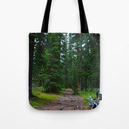 Path to the Alpine ... Wilcox Pass Hike in Jasper National Park, Canada Tote Bag