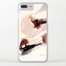 Day 19: The peace of minding your own business. Clear iPhone Case