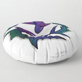 SHARK CIRCLE II Floor Pillow