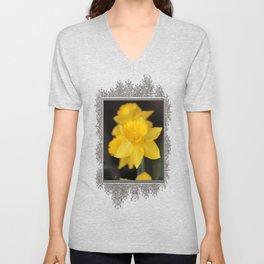 Trumpet Daffodil named Exception Unisex V-Neck
