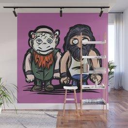The Wyatt Family: Pro Wrestler Doodle Wall Mural