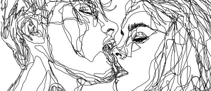 kiss more often (B & W) Coffee Mug