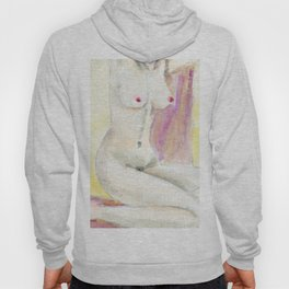 young female body Hoody