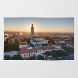 Sunrise Over the University of Texas, Austin Rug