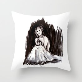All This Weight Throw Pillow