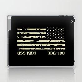 USS Kidd Laptop & iPad Skin