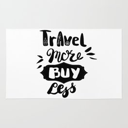 Travel more! Rug