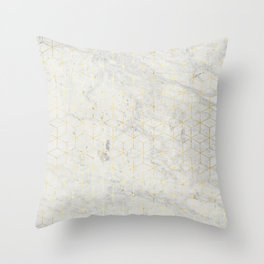 gOld 3D Throw Pillow