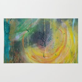 Light in the moment Rug