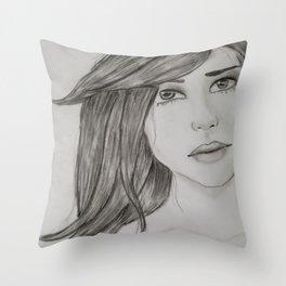 Can I Borrow A Kiss? Throw Pillow