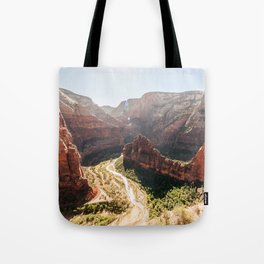 From the Mountains, Up Angel's Landing (Zion National Park, Utah) Tote Bag