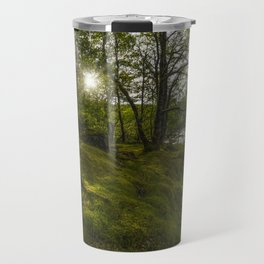 Morning River Sun Travel Mug