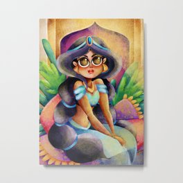 Princess Jasmine  Metal Print
