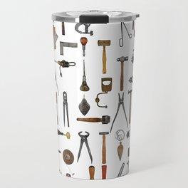 vintage tools collage Travel Mug