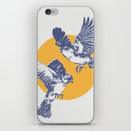 Sparrows iPhone Skin