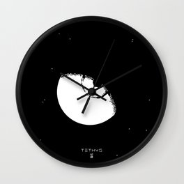 TETHYS Wall Clock