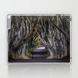 Dark Hedges Alley Laptop & iPad Skin