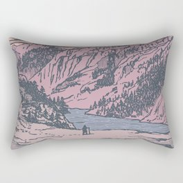 Adventure Is Calling Rectangular Pillow