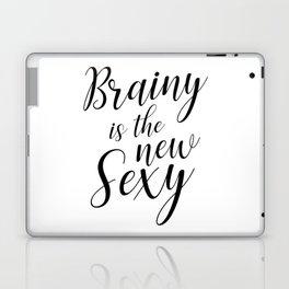 Brainy is the new sexy Laptop & iPad Skin