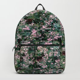 Pink Berry Pattern Backpack