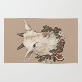 Goat and Figs Rug