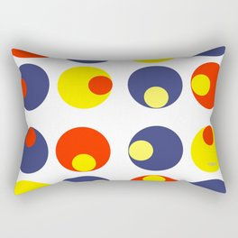 Electric Olives Rectangular Pillow