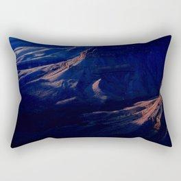 Grand Canyon Subtle Evening Light Rectangular Pillow