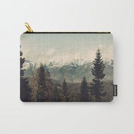Snow capped Sierras Carry-All Pouch