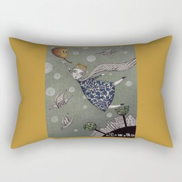 You can fly, Mary! Rectangular Pillow