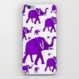ELEPHANT MARCH iPhone Skin