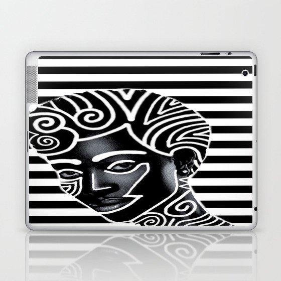 Black Queen Laptop Ipad Skin By Juanclenis Society6