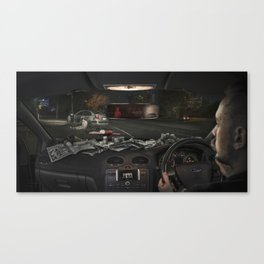 Criminal Canvas Print