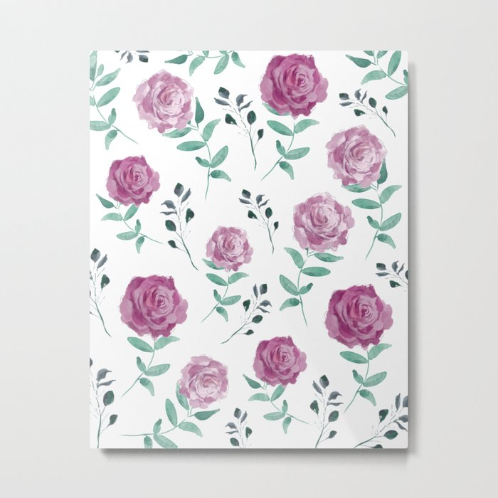 Romantic Florals [daily 18.3.2018. 1/60] Metal Print