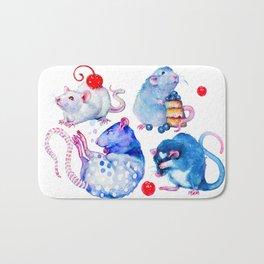 Sweet Rats Bath Mat