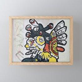 Just Peace Framed Mini Art Print