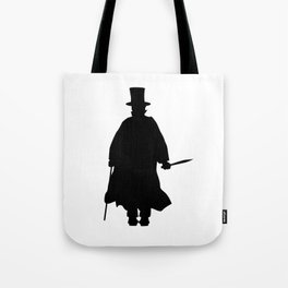 Jack the Ripper Silhouette Tote Bag