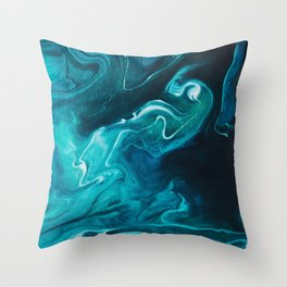 Gravity II Throw Pillow